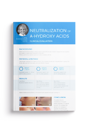 Neutralization Of A-Hydroxy Acids